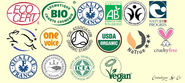 labels cosmetiques