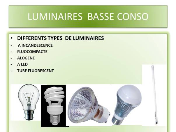 LUMINAIRES  BASSE CONSO3
