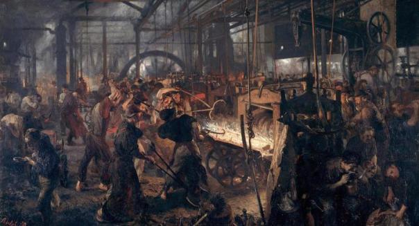 La forge : Adolf Friedrich Erdmann Von Menzel