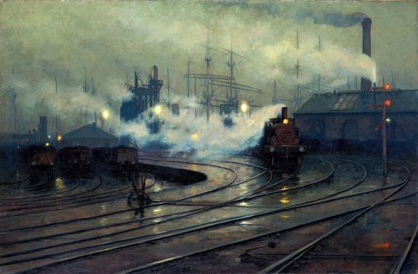 Les docks de Cardiff, Lionel Walden