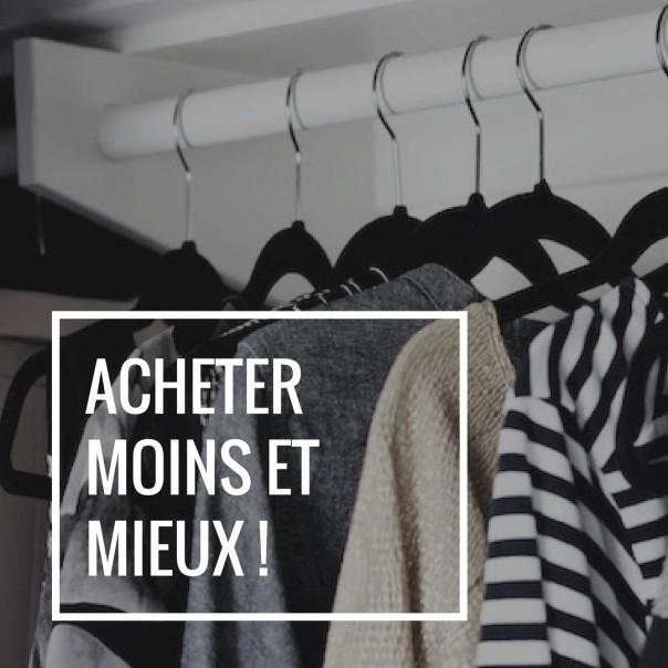 Fast fashion -acheter moins et mieux lebilletdd.com